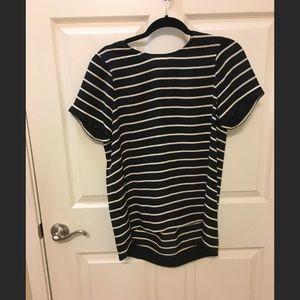 Madewell Striped Silk Shirt